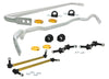 Whiteline 10-14 Hyundai Genesis Coupe 2.0T / 2.0T Premium Front & Rear Sway Bar Kit