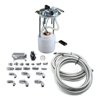 DeatschWerks 05-19 Yukon/Tahoe/Suburban DW400 Pump Module and Return SS CPE Plumbing Kit