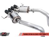 AWE Touring Axle-Back Exhaust w Black Tips 14-19 Chevrolet Corvette