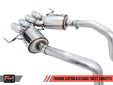 AWE Touring Axle-Back Exhaust w Chrome Tips 14-19 Chevrolet Corvette