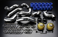 GReddy 1989-1994 Nissan Skyline GT-R Twin Airinx Complete Suction Intake Kit with Z32 Airflow Meters