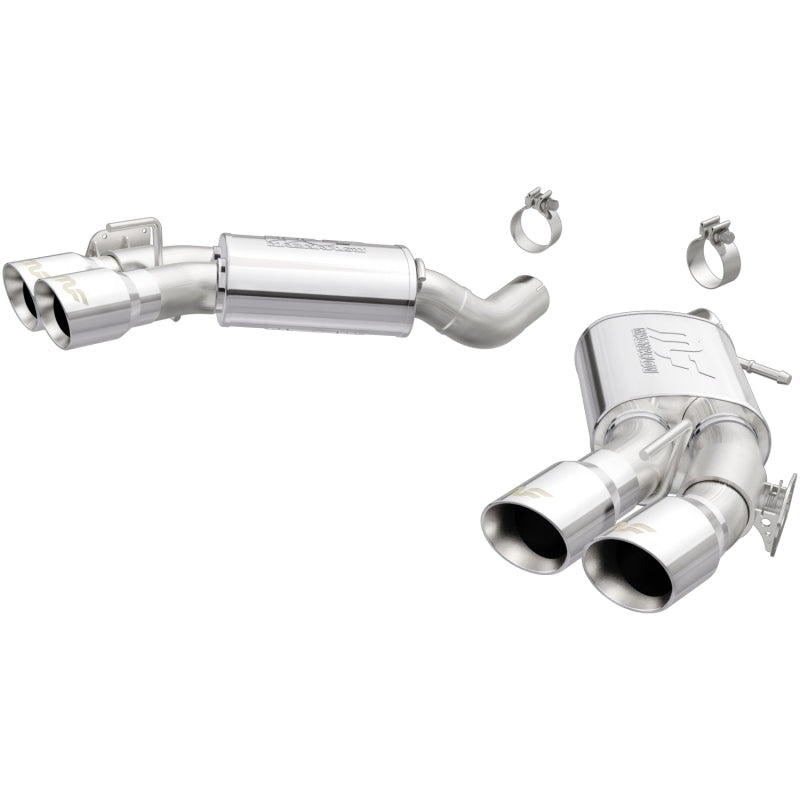 MagnaFlow Axle Back Exhaust System 16+ Chevrolet Camaro SS ZL1 6.2L V8