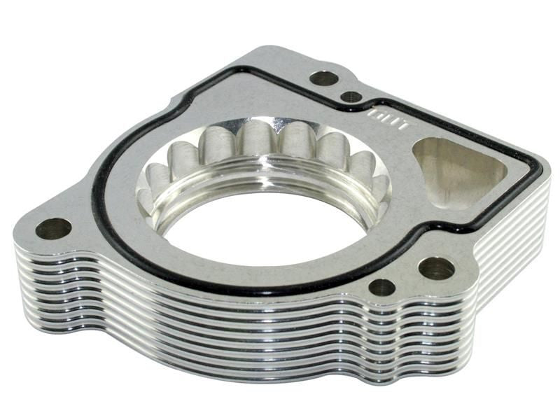 aFe 2003-2009 Dodge Ram 1500 V8 4.7L Silver Bullet Throttle Body Spacers (Use with afe51/54-10212  afe51/54-10381)