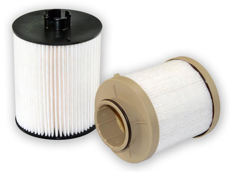 aFe 2008-2010 Ford F-550 F-450 F-350 F-250 Super Duty V8 6.4L Diesel Pro-Guard D2 Fuel Filter (Includes Engine Mount And Chassis Mount Filters)