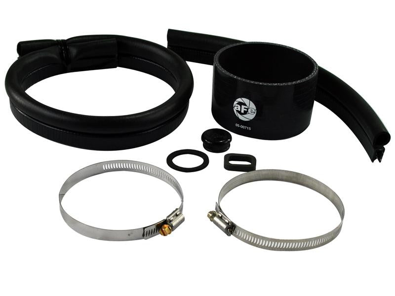 aFe MagnumFORCE Cold Air Intake System Tube Upgrade Soft Part Package for XX-11342 (Incl Straight Coupling/ Tubing/ Air Intake Tube Plug)