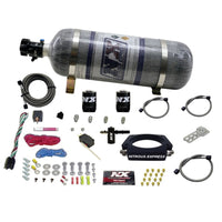 Nitrous Express LT2 C8 Nitrous Plate Kit (50-300HP) w/Composite Bottle