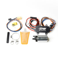 DeatschWerks 94-98 Nissan 240SX 440lph In-Tank Brushless Fuel Pump w/9-0913 Instl kit/C102 Contrllr