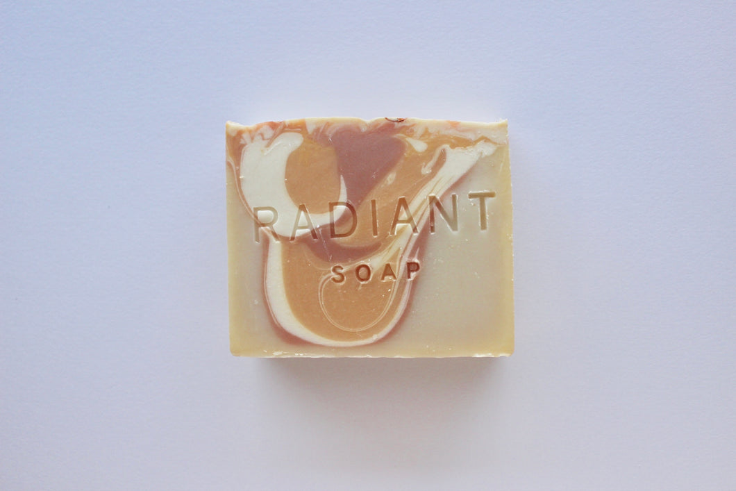 Oatmeal, Milk, & Honey Cold Process Soap - Radiant Soap