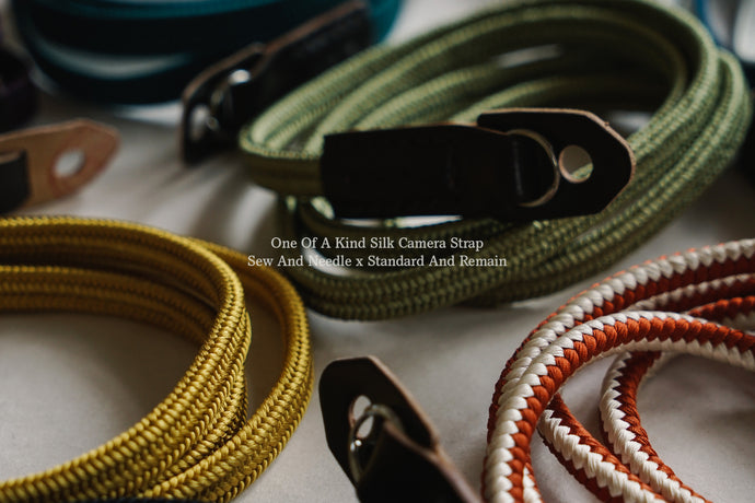 Silk Camera Strap : Details in Detail
