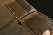 Custom Made: Shell Cordovan Heritage Bifold Wallet Full