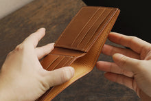 Heritage Bifold Wallet - Buttero Leather - Sand Color