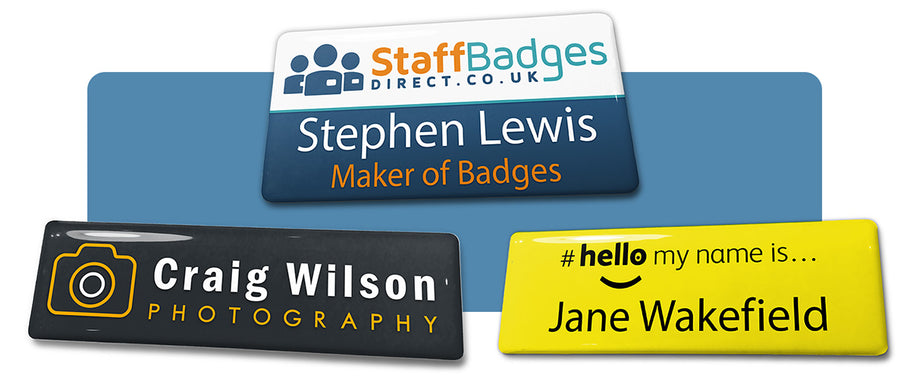 Introducing our new range of frameless badges
