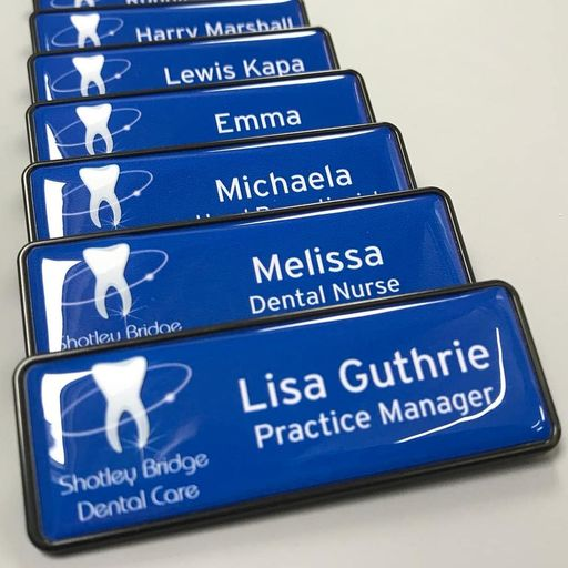 Dental Practice Name Badges