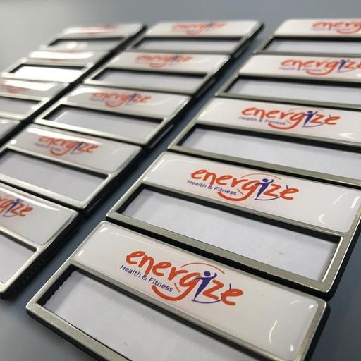 Gym and Leisure Centre Staff Badges