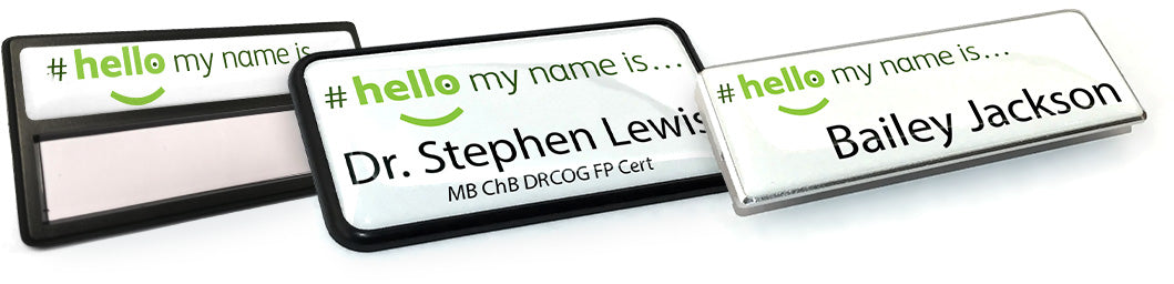 Hello My Name Is Badges