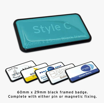 Custom Staff Name Badge: Style C