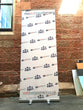 Step and Repeat Backdrop Pull Up Banner