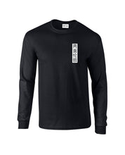 Chinese Symbol Long Sleeve Dark