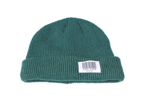 Coded Beanie Bottle Green