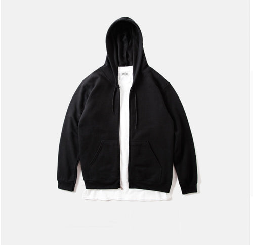 Black Zip Hoody