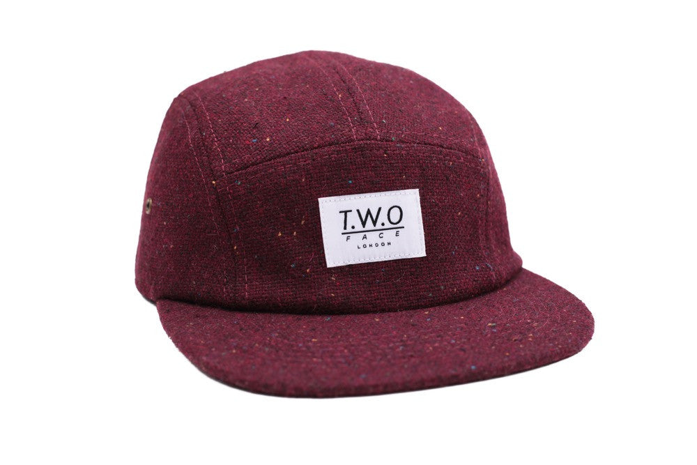 Tweed 5 Panel Hat