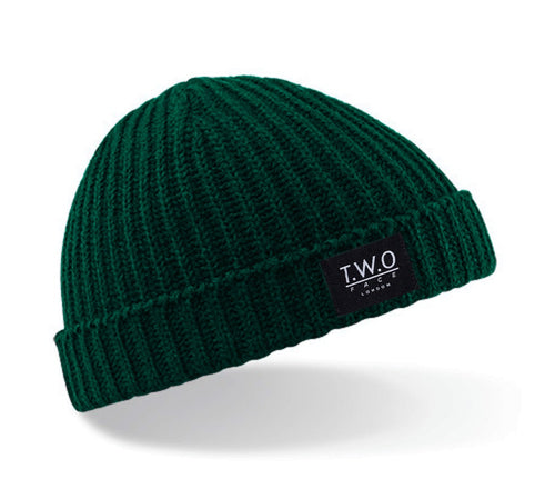 Short Beanie Bottle Green