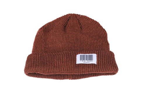 Coded Beanie Brown