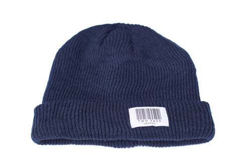 Coded Beanie Navy