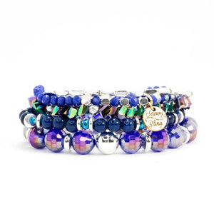 Peacock Bracelet Stack Set - Velvet Crown Boutique