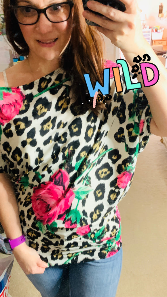 Leopard Loves Floral
