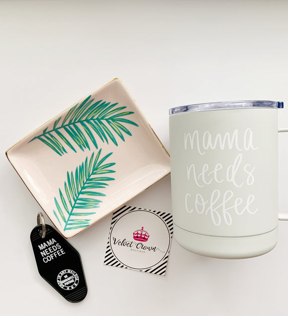 Mama Needs Coffee Set