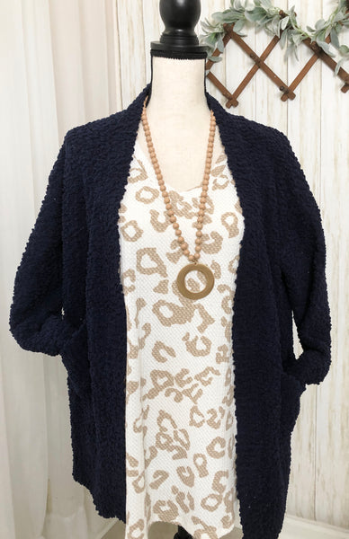 Gotta Have It Navy Cardigan
