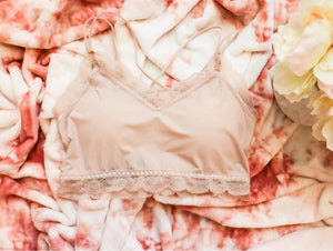 Blush Lace Bralette