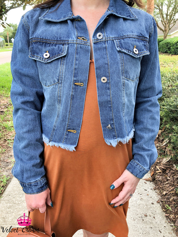 Blue My Mind Denim Jacket