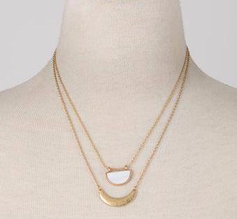 Crescent Moon Neckalce