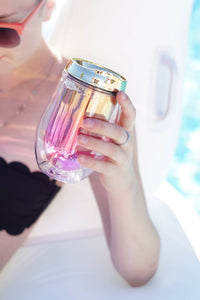 Metallic Ombre Stemless Tumblers - Velvet Crown Boutique