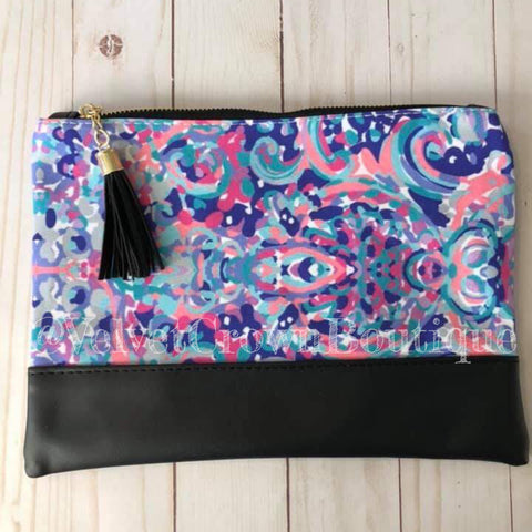Exclusive Watercolor Clutch