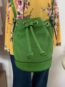 Green Bucket Handbag