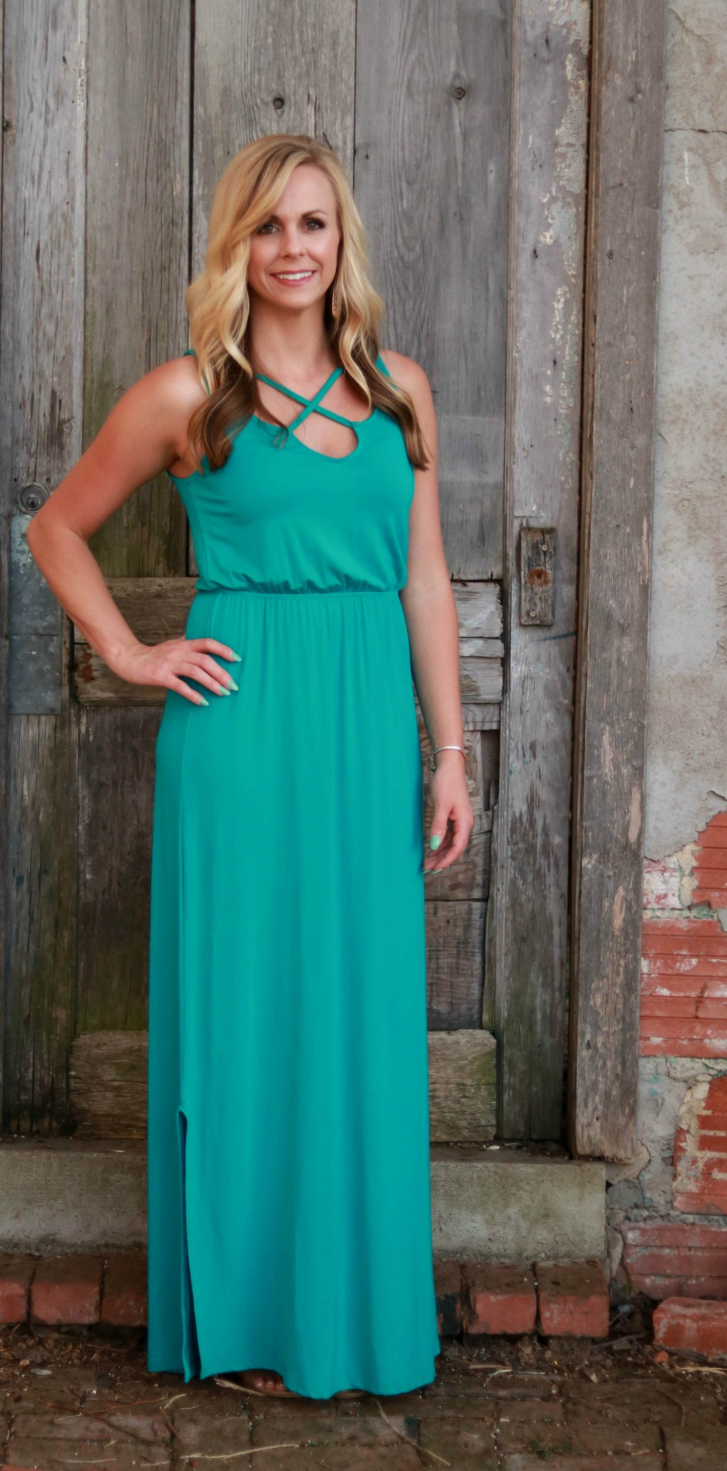 Jade Maxi Dress - Velvet Crown Boutique
