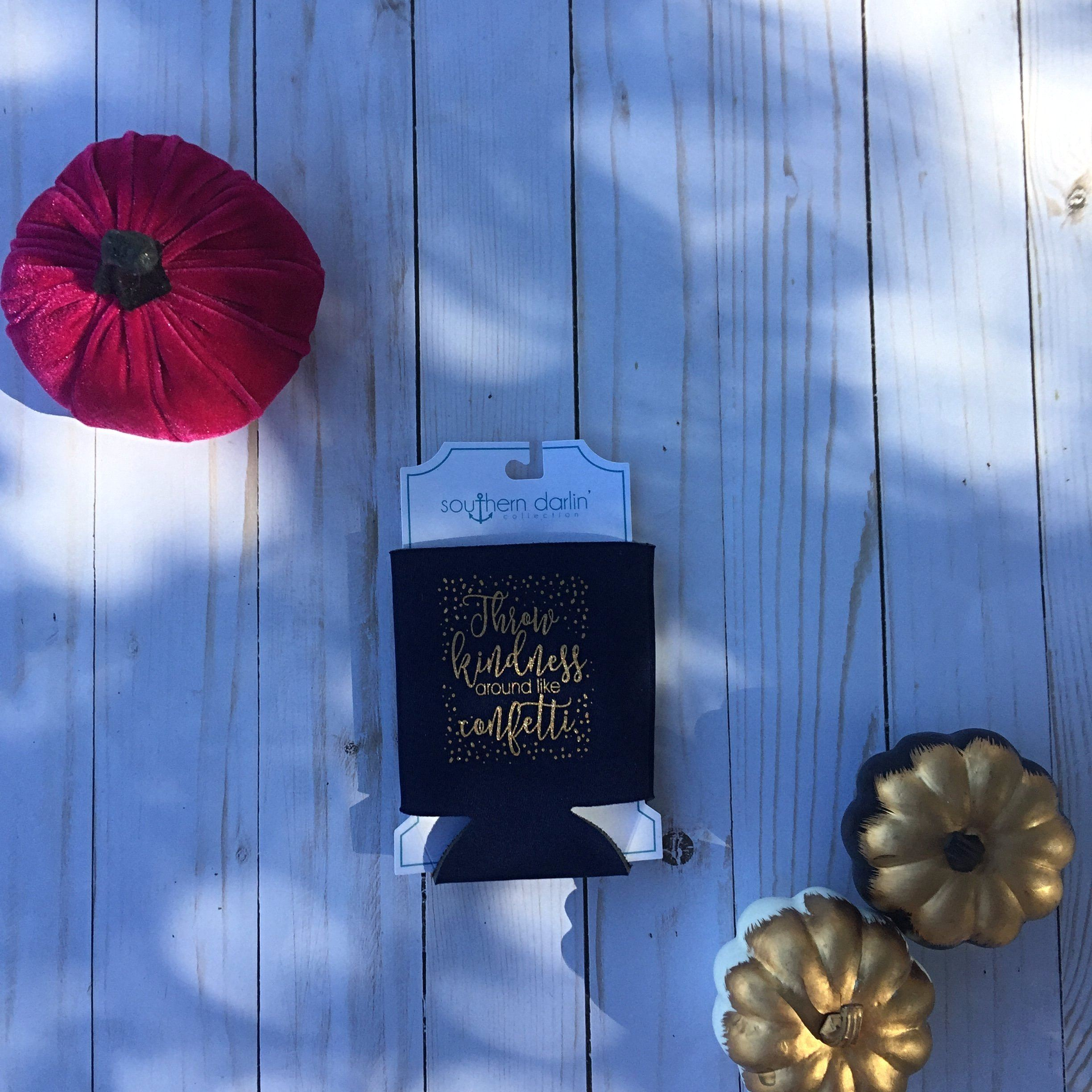 Throw Kindness Around  Can Cooler - Velvet Crown Boutique
