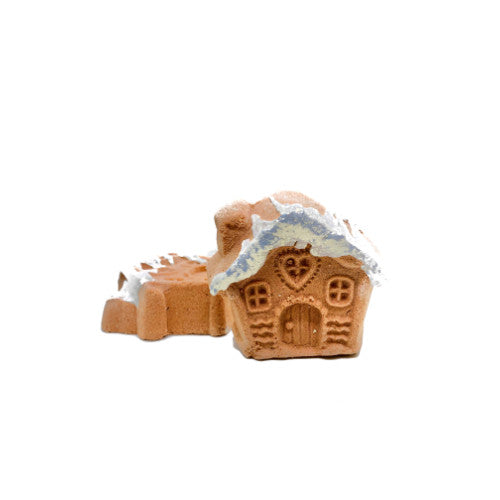 Mini Gingerbread House Bath Fizzy - Velvet Crown Boutique