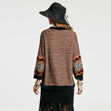 Bohemian Aztec Sweater