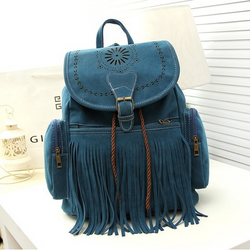 Boho Fringe Backpack