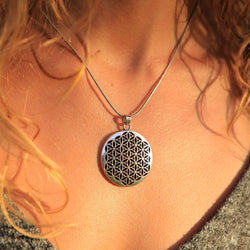 Sacred Flower of Life Pendant