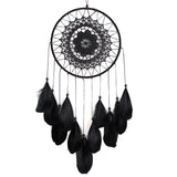 Black Feather Lace Dream Catcher