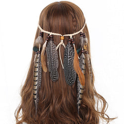Wild Woman Feather Headdress