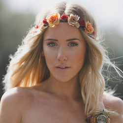 Handmade Boho Flower Crown