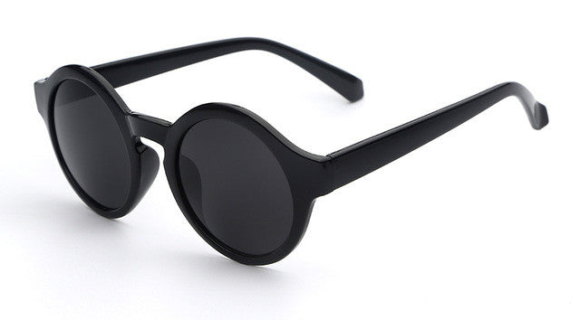 Round Retro Sunglasses for Women