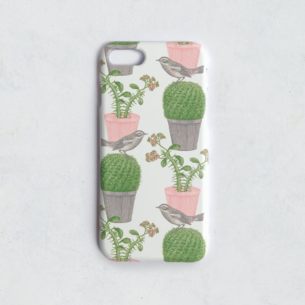 Cactus & Bird Phone Case