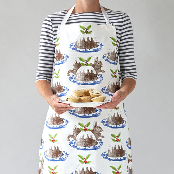 Christmas Pudding Apron